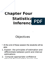 2. Statistical Inference