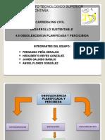 4.6 Obsolescencia Planificada y Percicibida