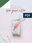 New Years Eve Night Menu Pb2
