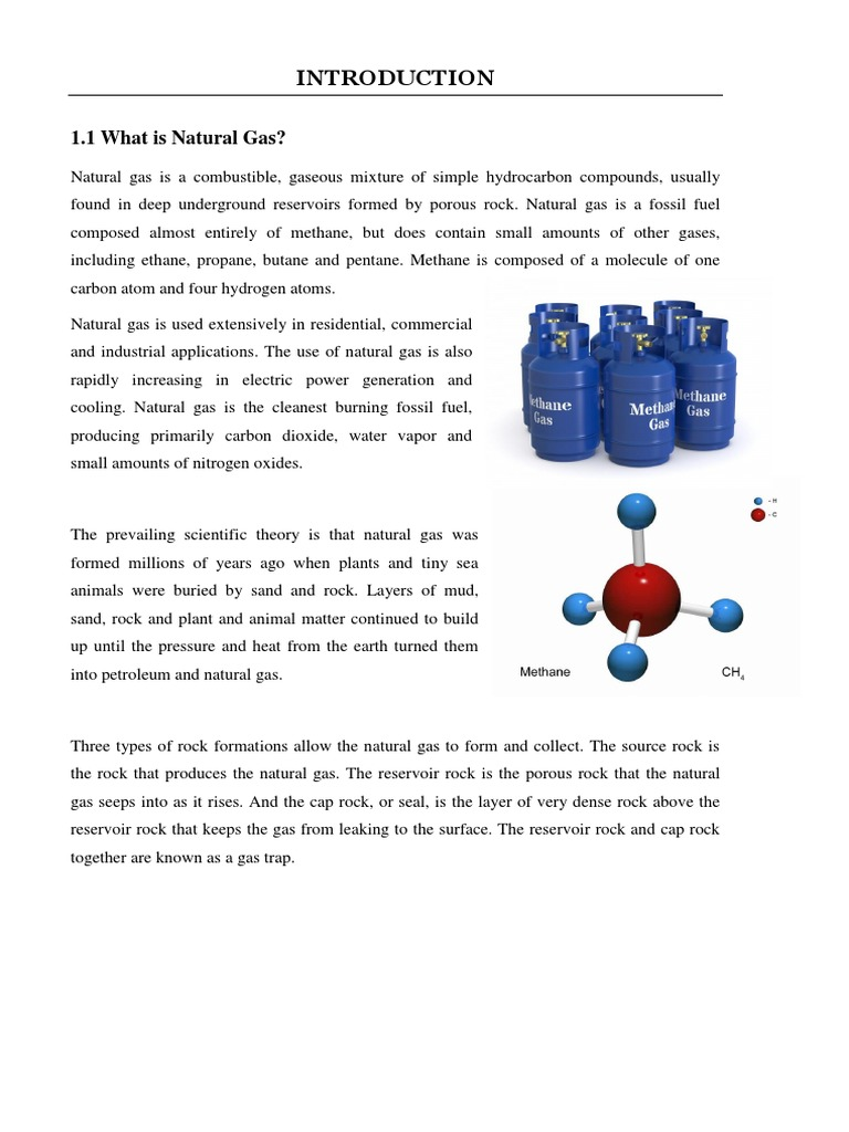 Natural Gas Lecture Note | Natural Gas | Petroleum Reservoir