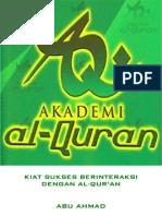 Akademi Al-Qur'an _ Kiat Sukses Berinteraksi Dengan Al-Qur'an