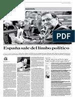 Yolanda Vaccaro- Rajoy investido presidente de España