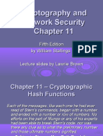 hash functions cryptography powerpoint presentation notes security