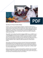 Case Study About Micro-finance for Women in Northern Pakistan By Agha Khan Development Network