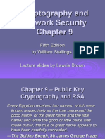 Public Key Cryptography and RSA