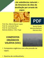 Isolamento de Substâncias Naturais _ Extração Do Limoneno BAC 2012