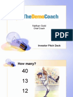 Investor Pitch Template model