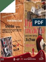Folheto Iifeira Medieval Jfo