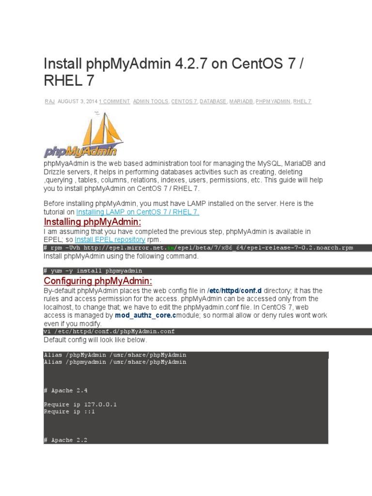 install-phpmyadmin-4-2-7-on-centos-7-rhel-7 | Apache Http