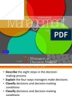 Chapter 7 Managers as Decision Makers