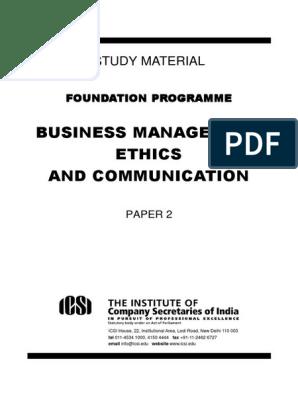 Foundation BMEC 2 | Profession | Interpersonal Relationships