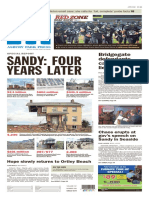 Asbury Park Press front page, Saturday, Oct. 29, 2016