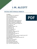 Louisa M. Alcott-Fiicele Dr. March 0.9 09