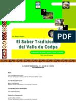 El Saber Tradicional Del Valle de Codpa-Texto Profesor-2006