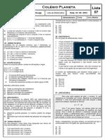 C_lio - Lista 07 Matutino.doc