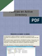 Políticas en Active Directory