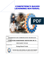 Uses of HandTools Common Competencies
