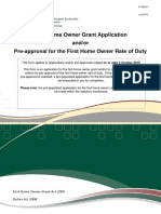FHOG Lodgement Guide and Application Form