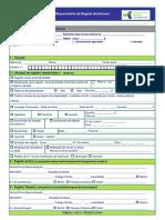 DUA - Impresso Único Para Registo Automóvel