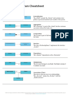 Uml Classdiagram Cheat Sheet