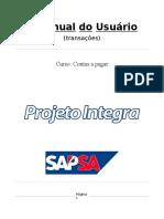 Apostila AP Contas a Pagar  SAP