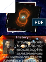 nebular hypothesis presentaion
