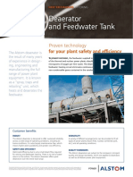 Heat Exchangers Deaerator Feedwater Tank