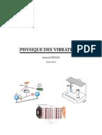 Cours de Physique Des Vibrations