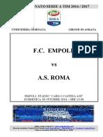 Empoli Roma 11giornataseriea