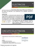 Clase 07 Circuitos Electricos Capacitores