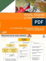 Clase La Conformación Del Territorio Chileno