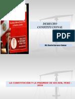 La Constitución y La Pirámide de Kelsen Perú 2016
