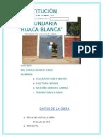 Huaca-blanca Practica Final chongoyape