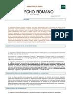 Derecho Romano Prog