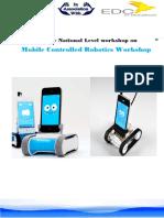 2-Days Mobile Controlled Robotics Workshop