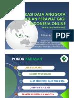 Sosialisasi Aplikasi Ppgi Online
