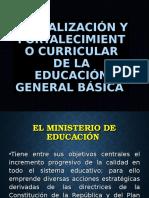 Presentación Estructura General Del Curriculo