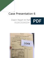 Case Presentation 6