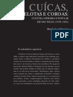 Pereira,ML. Cuícas, Pelotas e Coroas. Cultura Operária e Popular... p2