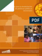 Guía Para La Formulación de Políticas Públicas Sectorialesresaltado