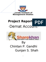 Project Report of Share Khan