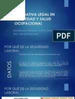 Clase 1. Normativa Legal en Seguridad y Salud Ocupacional