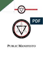 OMS Public Manifesto 1.0