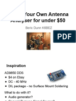 K6BEZ - $50 Antenna Analyzer