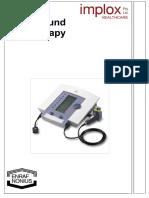 Electrotherapy Ultrasoundtherapy Implox