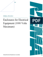 NEMA 250 - Enclosures for Electrical Equip - Sep 2014