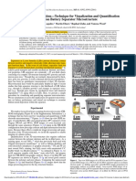 Communication—Technique for Visualization and Quantification of Lithium-Ion Battery Separator Microstructure