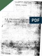 Gambra, Rafael - La Filosofía Católica en El Siglo XX