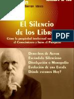 El Silencio de los libros - Cómo la propiedad intelectual vuelve invisible el conocimiento y frena el desarrollo