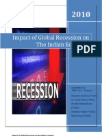 6.Impact of Global Recession on the Indian Economy_Group 6 _ FMG 18 A_1